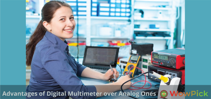 Advantages of Digital Multimeter over Analog Ones
