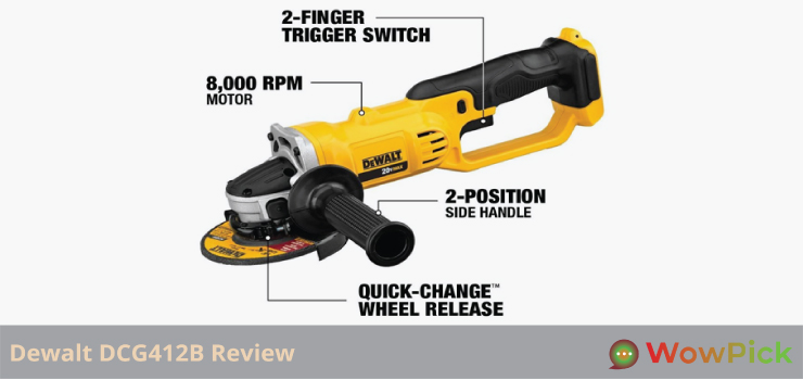 Dewalt DCG412B Review