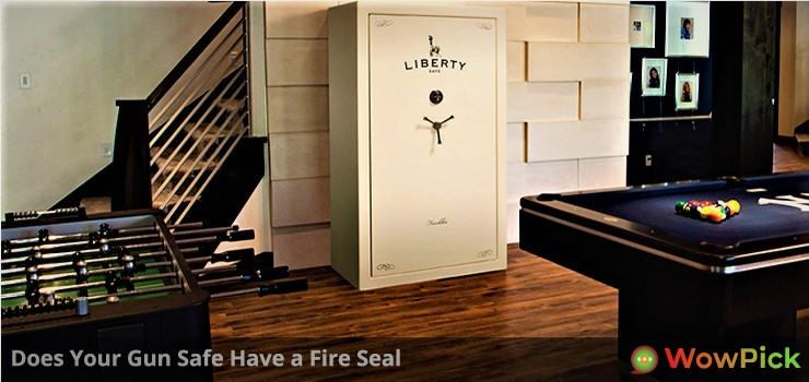 Does Your Gun Safe Have a Fire Seal