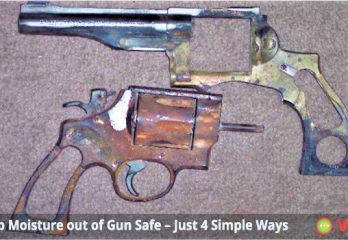 How to Keep Moisture out of Gun Safe