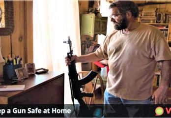 How to Keep a Gun Safe at Home