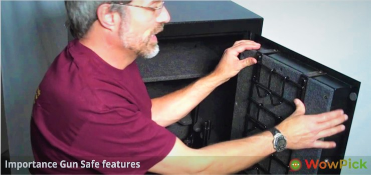 Importance Gun Safe features
