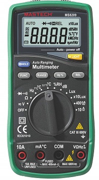 Mastech MS8209 5 in 1 Multimeter