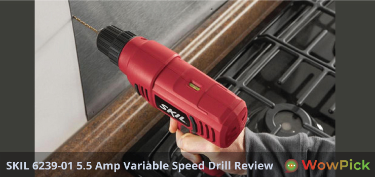 SKIL 6239-01 5.5 Amp Variable Speed Drill Review