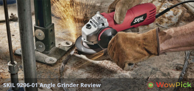 SKIL 9296-01 Angle Grinder Review