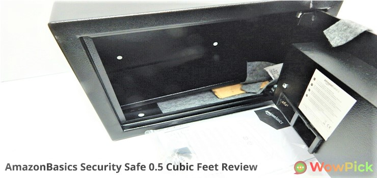 AmazonBasics Security Safe 0.5 Cubic Feet Review